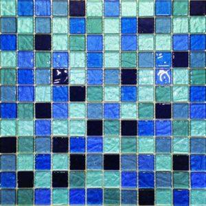 Gạch trang trí Mosaic Thủy Tinh BLGS207