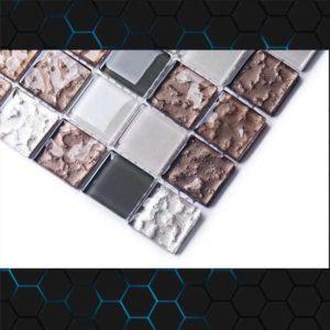 Gạch trang trí Mosaic Thủy Tinh BLGSHI173