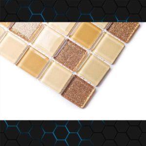 Gạch trang trí Mosaic Thủy Tinh BLH1875