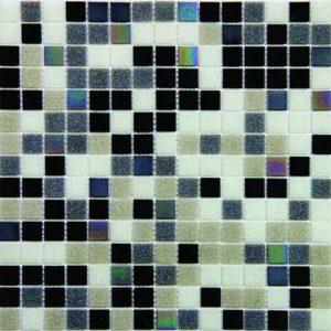 Gạch trang trí Mosaic Thủy Tinh Mờ IC122