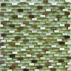 Gạch trang trí Mosaic Kính Thủy LABKS023