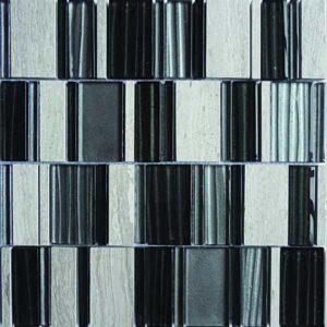Gạch trang trí Mosaic Đá & Thủy Tinh LAS275