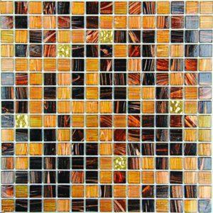 Gạch trang trí Mosaic Thủy Tinh Mờ SGG10