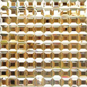 Gạch trang trí Mosaic Kính Thủy XN430-A3
