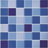 Gạch mosaic thủy tinh bóng 4mm