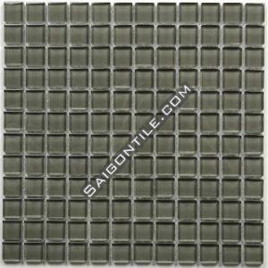 Gạch mosaic thủy tinh đơn sắc TA002