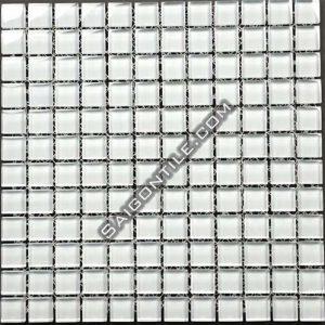 Gạch mosaic thủy tinh đơn sắc TWB001