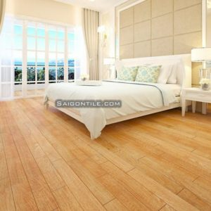 Gạch lát nền màu gỗ bột đá ép DTD1380GOSAN005