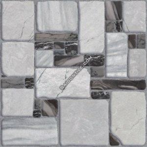 Gạch nền toilet Đồng Tâm chống trượt 40x40 4040HOADA001