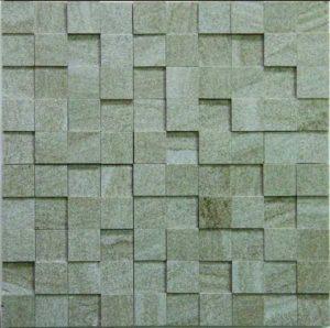 Gạch trang trí Mosaic Đá 3D1-GREY