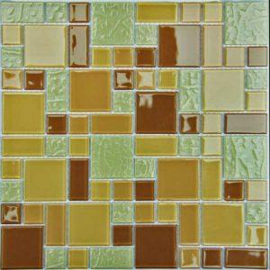 Gạch trang trí Mosaic Thủy Tinh ACM12