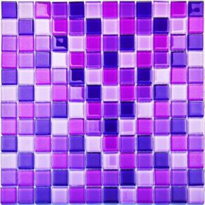 Gạch trang trí Mosaic Thủy Tinh BLH1570N