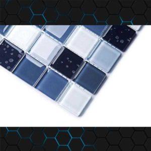 Gạch trang trí Mosaic Thủy Tinh BLH1873