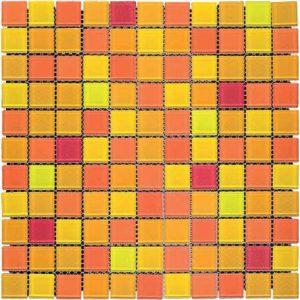 Gạch trang trí Mosaic Thủy Tinh BLH299-3