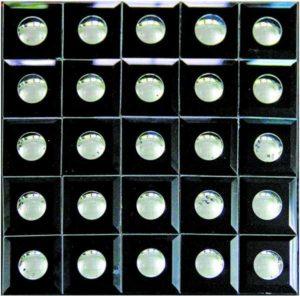 Gạch trang trí Mosaic Kính Thủy BMC001