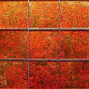Gạch trang trí Mosaic Thủy Tinh CB001