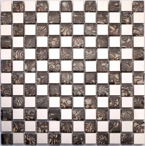 Gạch trang trí Mosaic Kim Loại CH011G-6