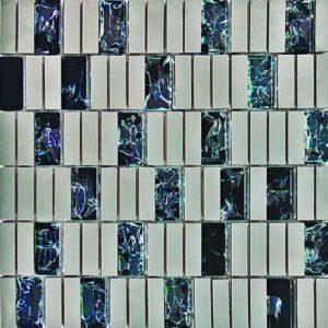 Gạch trang trí Mosaic Kim Loại CN107G-2A