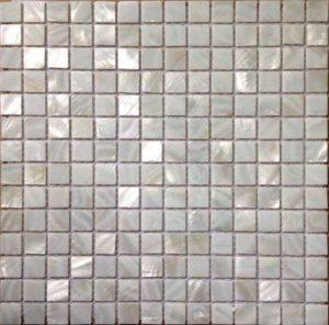 Gạch trang trí Mosaic Vỏ Sò CP1058N (Trắng)