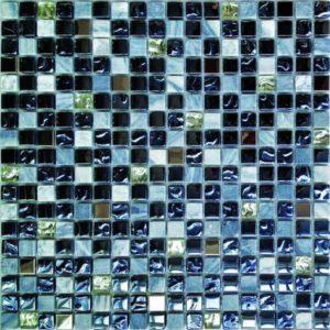 Gạch trang trí Mosaic Kính Thủy DHT17