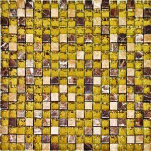 Gạch trang trí Mosaic Kính Thủy GK1503SG