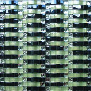 Gạch trang trí Mosaic Thủy Tinh HEA14