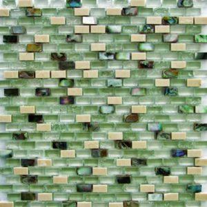 Gạch trang trí Mosaic Kính Thủy LABKS021