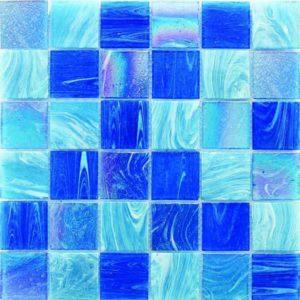 Gạch trang trí Mosaic Thủy Tinh Mờ LAR135