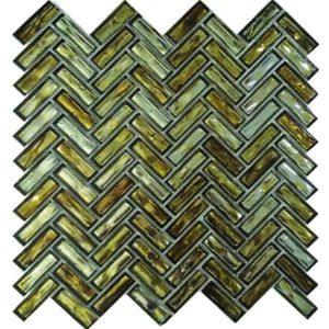Gạch trang trí Mosaic Men MM60056 (Xương Cá)