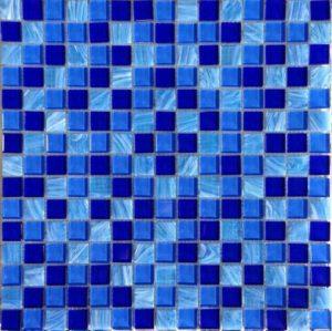 Gạch trang trí Mosaic Thủy Tinh Mờ PTH5574