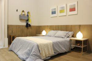 Gạch ốp tường vân gỗ 15x60 Keraben p1560 bena