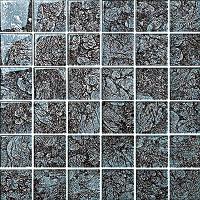 Gạch mosaic thủy tinh bóng 8mm