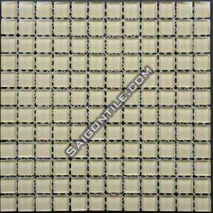 Gạch mosaic thủy tinh đơn sắc TB012