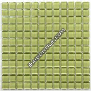 Gạch mosaic thủy tinh đơn sắc TB015