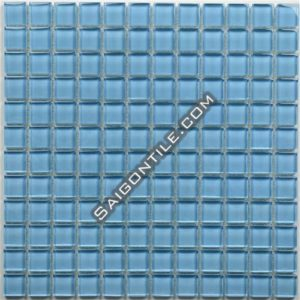 Gạch mosaic thủy tinh đơn sắc TBB005