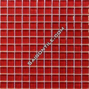 Gạch mosaic thủy tinh đơn sắc TRB005