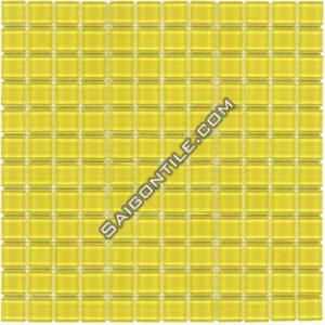 Gạch mosaic thủy tinh đơn sắc TYB019