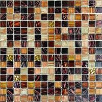 Gạch mosaic thủy tinh mờ