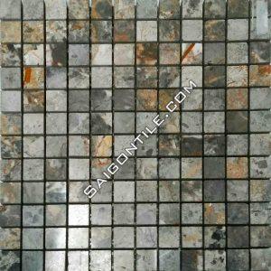 Đá tự nhiên ốp tường - Mosaic đá tự nhiên MY01-P
