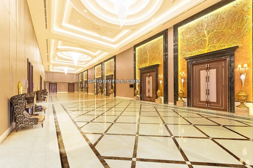 Gạch sàn nhà 80x80 8080PLATINUM003