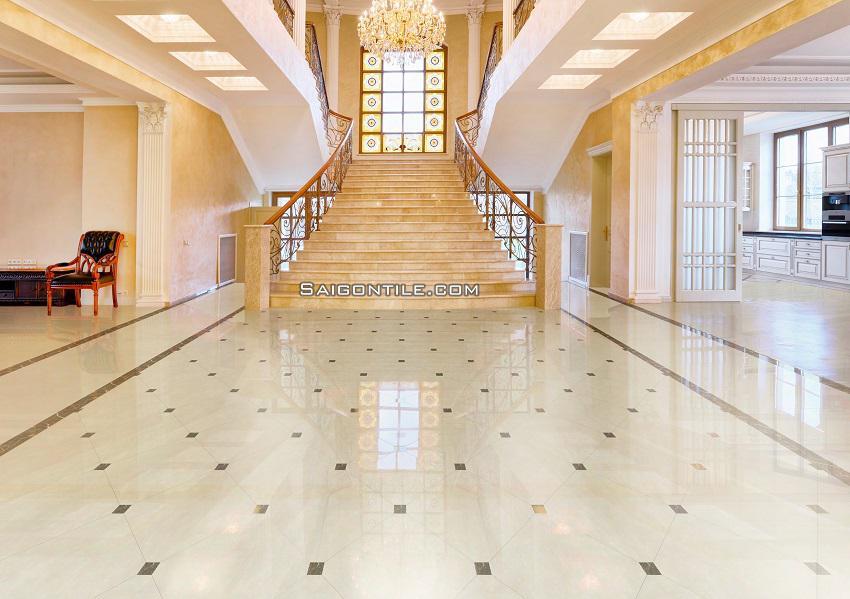 Gạch sàn nhà porcelain 8080PLATINUM003
