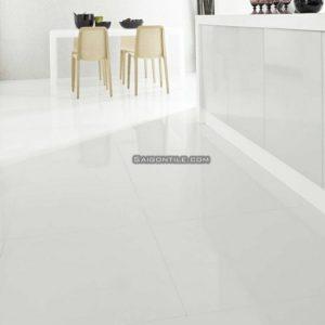Gạch nền nhà đẹp bóng kính 6060SNOW001-FP