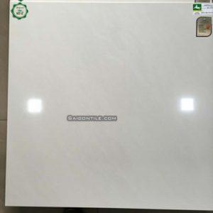 Gạch White Horse 80x80 vân mây trắng mài bóng đẹp HRP8001
