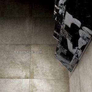 Gạch phòng sách men mờ cement cao cấp Firenze Grigio F3 60x60
