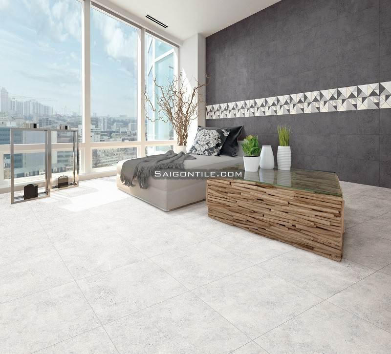 Gạch thạch anh terrazzo 60x60 BLA02R