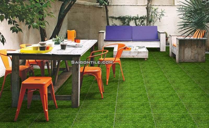 Gạch cỏ cao cấp 4040GREENERY002