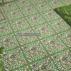Gạch hoa cỏ Đồng Tâm 4040GREENERY004