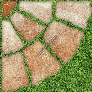 Gạch sân vườn Đồng Tâm granite men mờ đẹp 40x40 4040greenery003