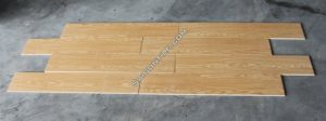 Gạch 150x800 vân giả gỗ màu vàng nhập khẩu Trung Quốc DW158804