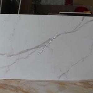 Gạch đá lát nền vân marble trắng khổ lớn DBLH126215
